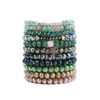 Crystal Beads Bracelets Stretch Faceted
