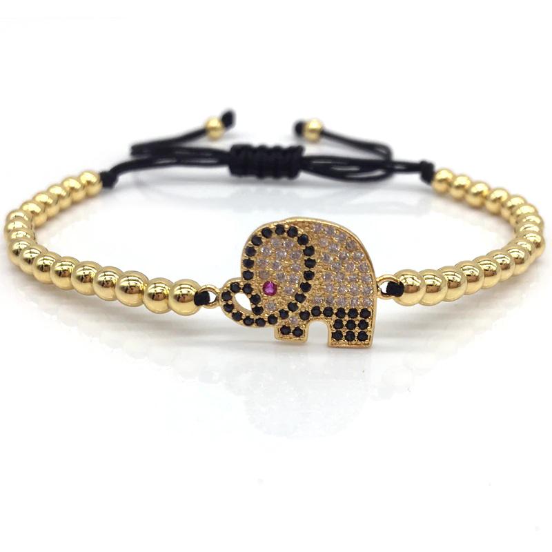 elephant-bracelet-charm-beaded-macrame-sliding-knot-cz-gold