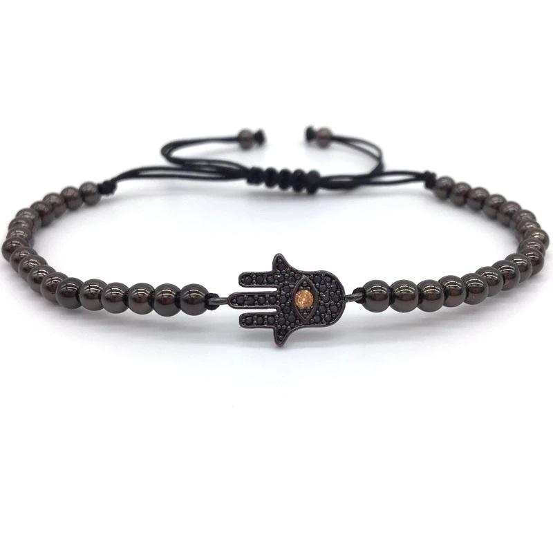 hamsa-hand-charm-bracelet-cz-macrame-sliding-knot-black