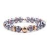 Crystal Beaded Stretch Bracelets Charm Custom Handmade