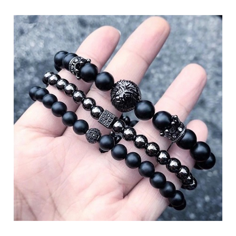 r-mens-bracelet-sets-beaded-stretch-charm-leather