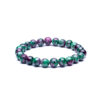 Buddha Beads Bracelets 8mm Stretch Natural Stones