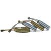 Survival Bracelet Emergency 550 Para-Cord Adjustable