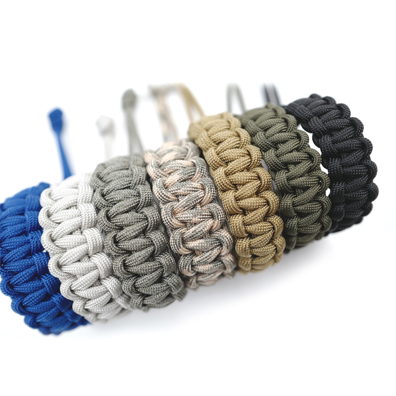 Handmade Survival Bracelet Adjustable 550 Para Cord