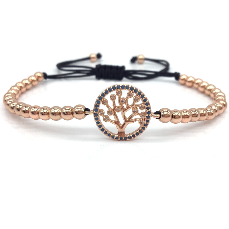 tree-of-life-bracelet-beaded-cz-macrame-sliding-knot-rose-gold