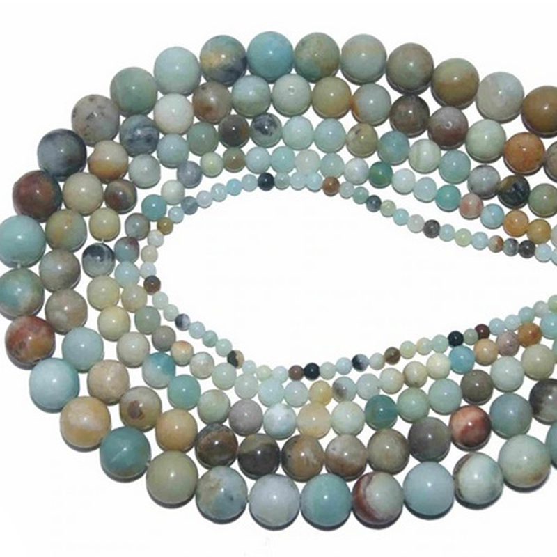 Colorful Amazonite Stone Jewelry Making Gemstones
