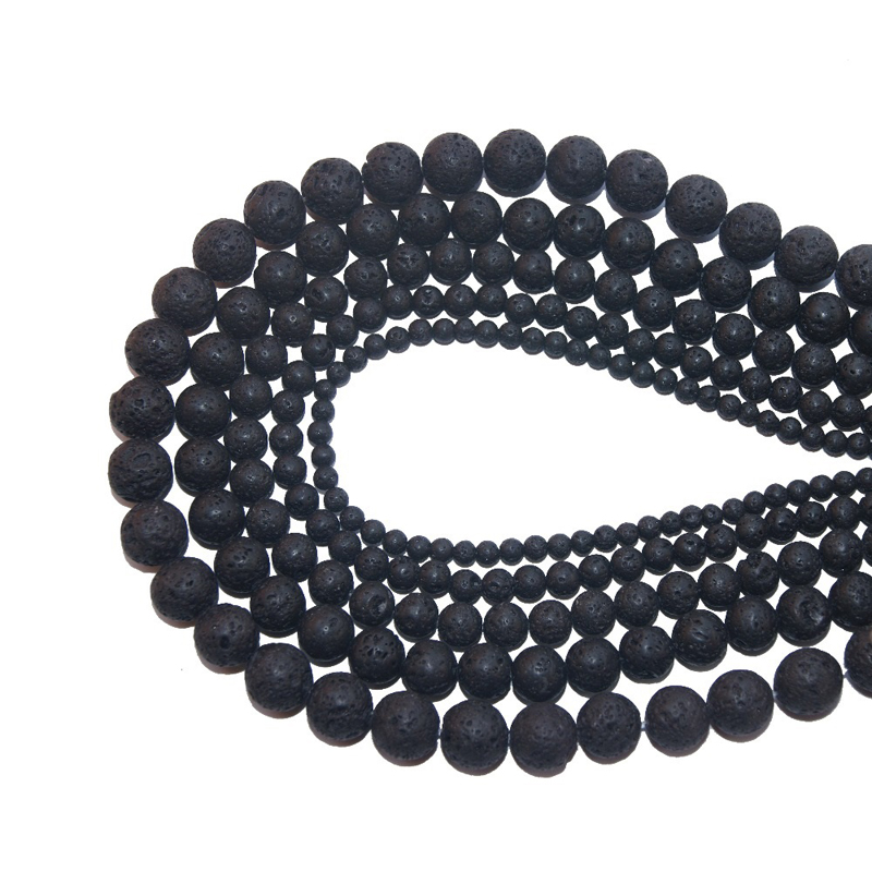 Volcanic Rock Bracelet Making Jewelry Beads