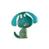 Cute Puppy Brooch Dress Decoration Pin Jewelry