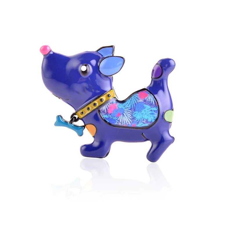 blue-cute-dog-pin-clothes-decoration-jewelry-brooch