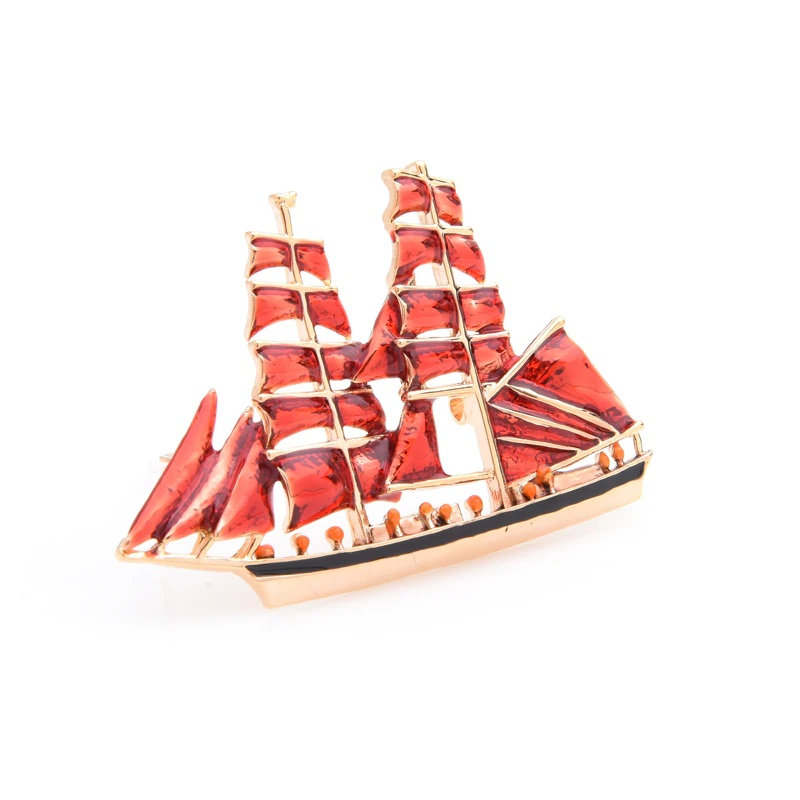 brooch-gift-sailboat-jewelry-pin-enamel-alloy