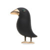Crow Jewelry Suit Hat Collar Scarf Buckle Brooch Pin