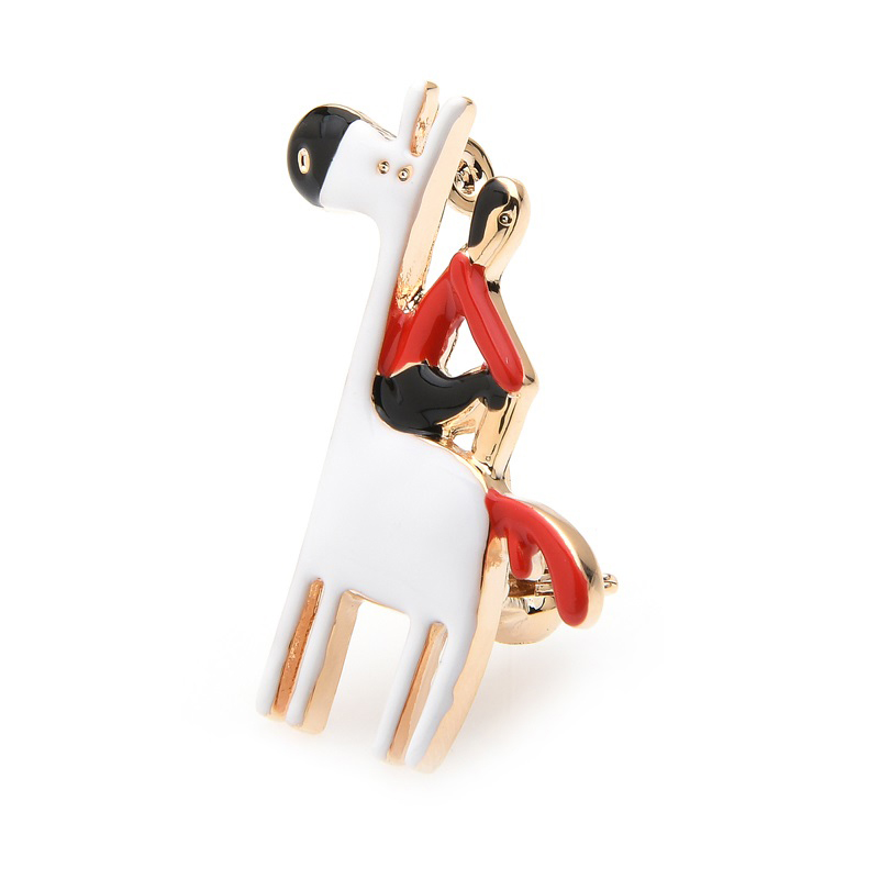 dress-decorating-jewelry-pin-a-man-on-a-horse-brooch