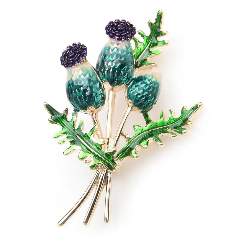 green-berry-jewelry-clothes-brooch-bouquet-flower-pin