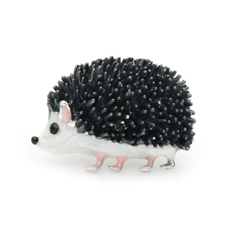 Hedgehog Pin Animal Brooch Jewelry