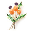 Berry Jewelry Clothes Brooch Bouquet Flower Pin