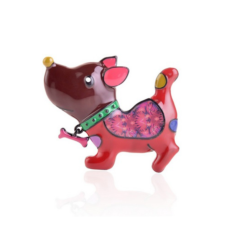 red-cute-dog-pin-clothes-decoration-jewelry-brooch