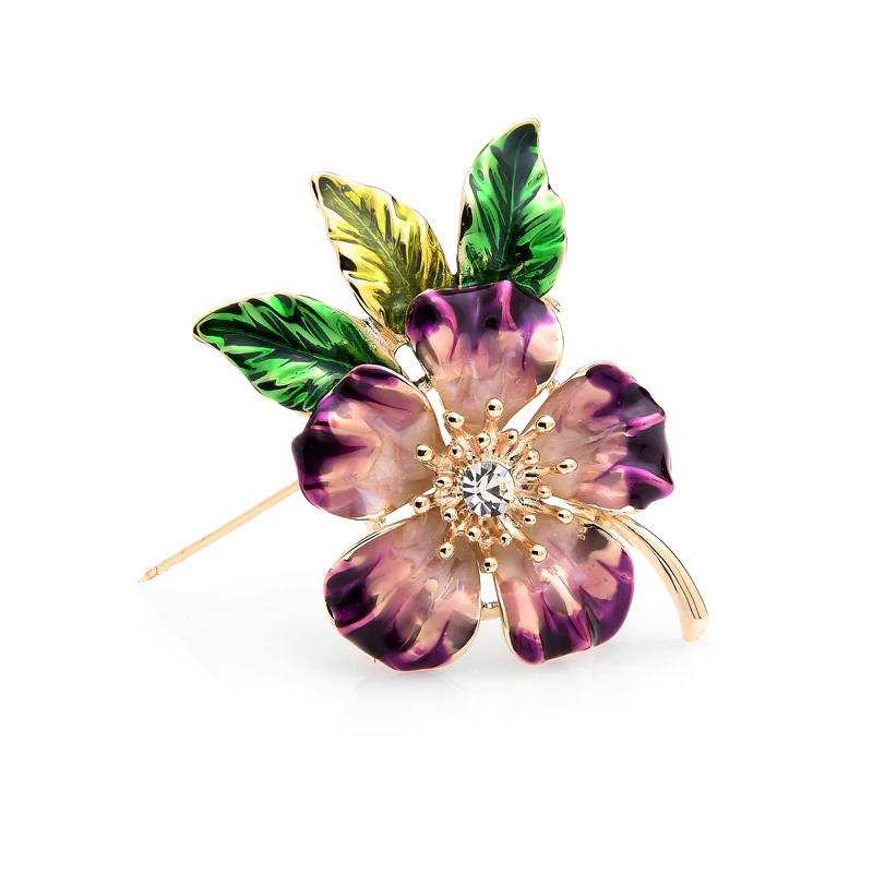 tree-mallow-pin-wedding-decoration-jewelry-brooch