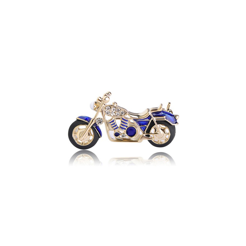 blue-motorcycle-brooch-cz-enamel-clothes-pin-jewelry