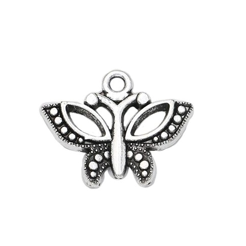 Butterfly Charm Pendant Jewelry Making Accessory
