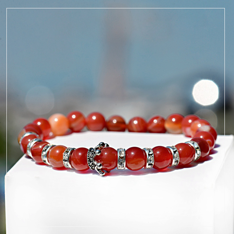 cz-handmade-imperial-orange-agate-crown-bracelet