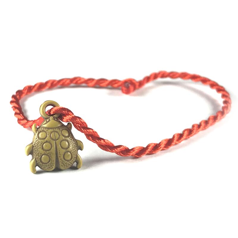 Friendship Pendant Bracelet Handmade Rope Knot