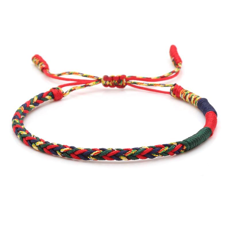 Lucky Knot Friendship Bracelet Tibetan Handmade