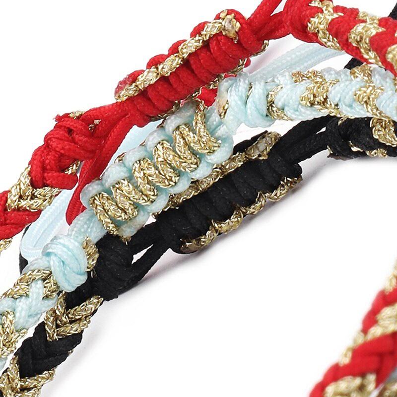 lucky-knot-handmade-tibetan-bracelet-buddhist-BR-14329