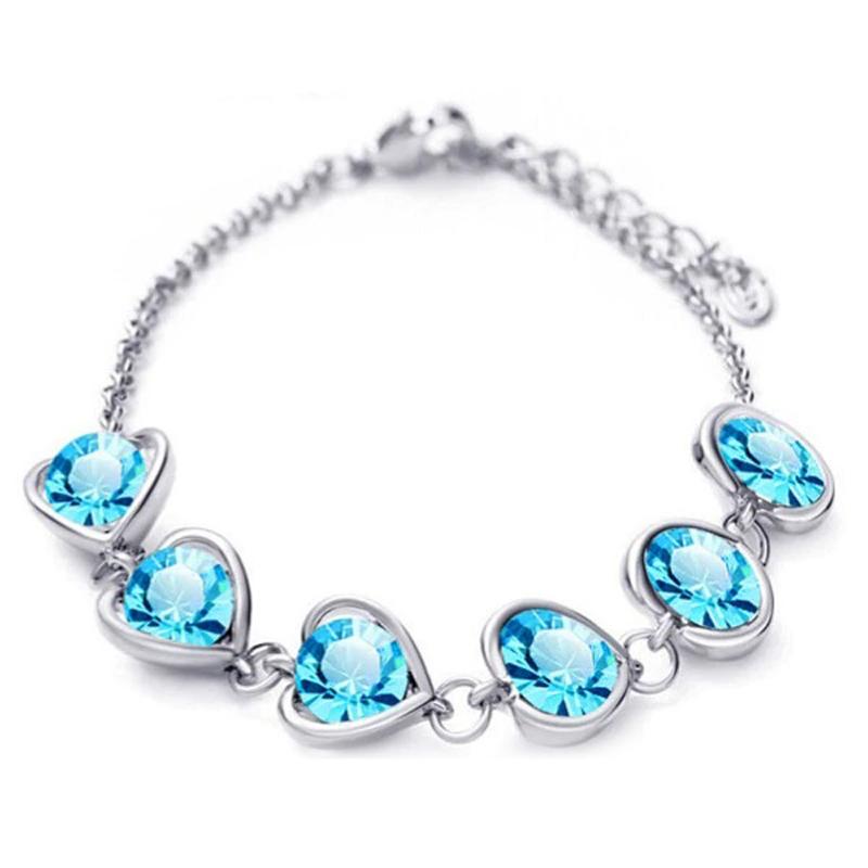 crystal-hearts-bracelet-valentine-love-jewelry-aqua-silver-BR-14613-14618