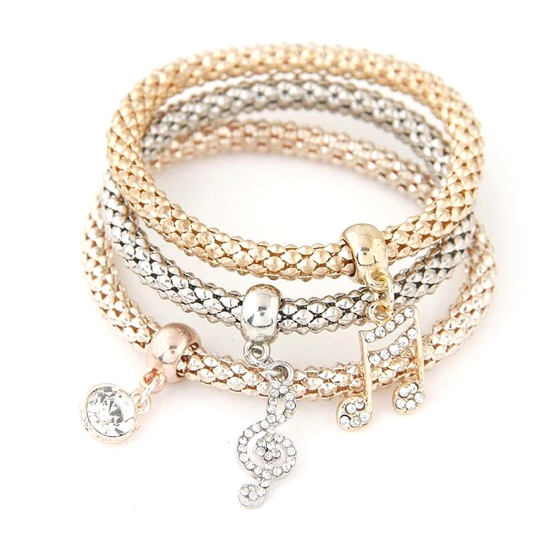 multi-layer-charm-bracelet-rhinestone-elastic-bangle-musical-symbols-BR-14488-14490