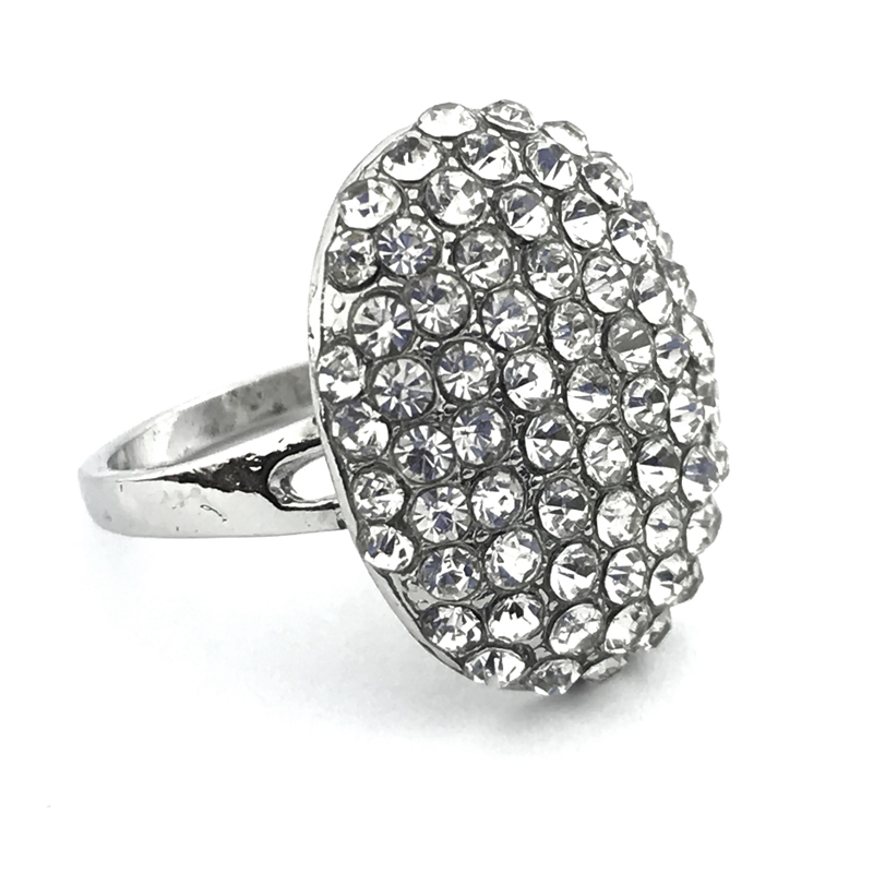 Bridal Cubic Zirconia Ring Handmade Wedding Jewelry