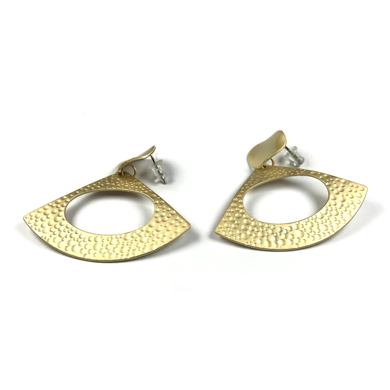 Triangle Drop Earrings Fashion Vintage Style