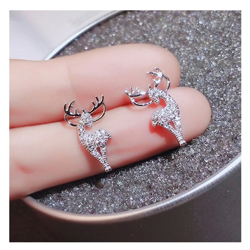 925-sterling-silver-plated-cz-deer-stud-earrings-EAR-14873