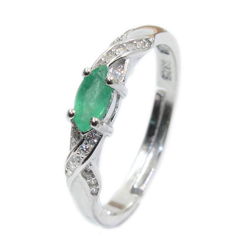 Tanzanite Emerald Sapphire Rings CZ S925