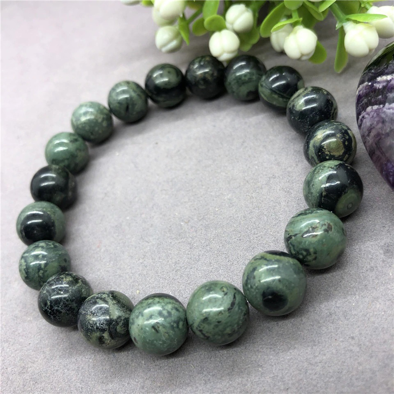 Kambaba Beads Bracelet Handmade Natural Stone