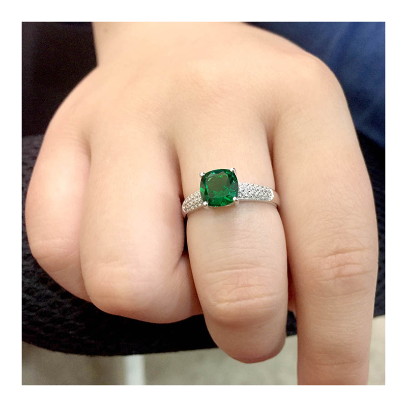 925-sterling-silver-cz-green-square-stone-ring-RNG-15180