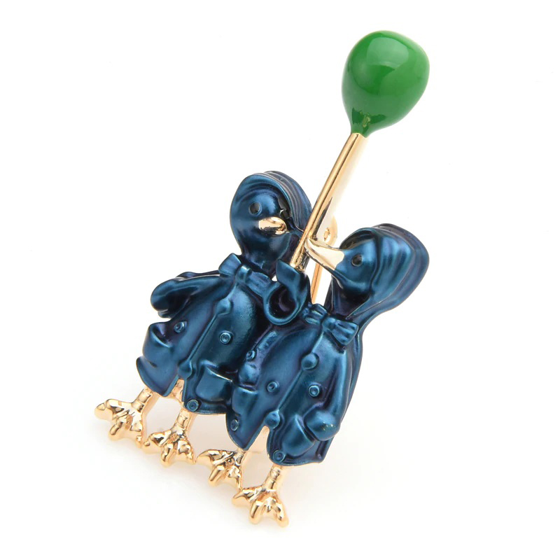 alloy-enamel-blue-couple-ducks-brooch-lovely-pin-PN-15112-15113