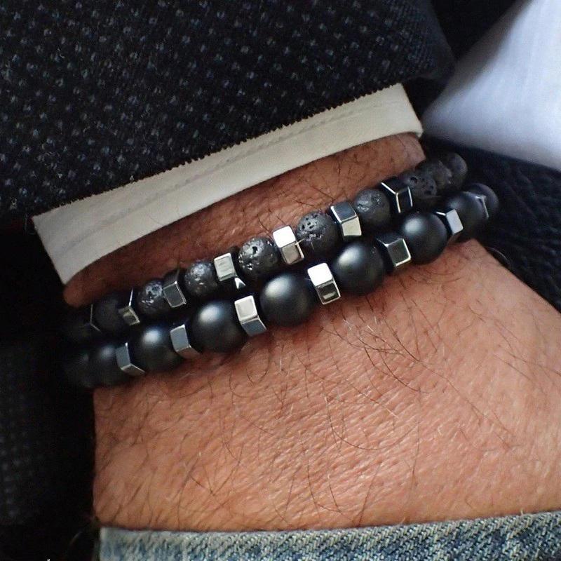 beaded-bracelets-for-men-stretch-crown-cross-charm-e-BR-15276-15281