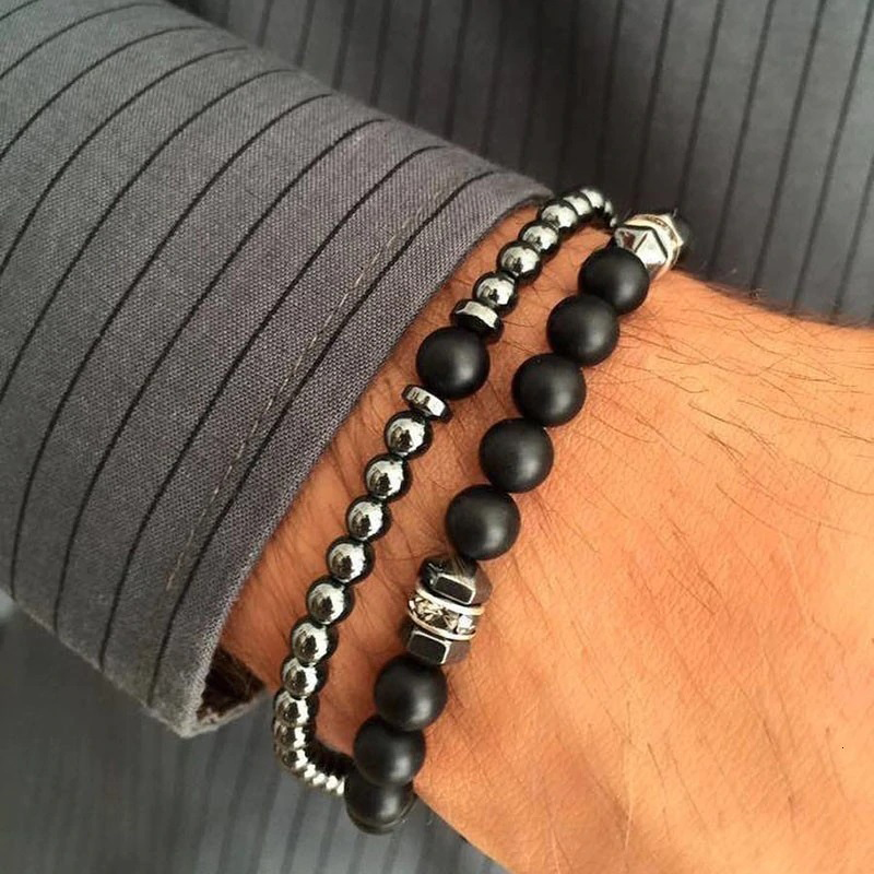 beaded-bracelets-for-men-stretch-crown-cross-charm-f-BR-15276-15282