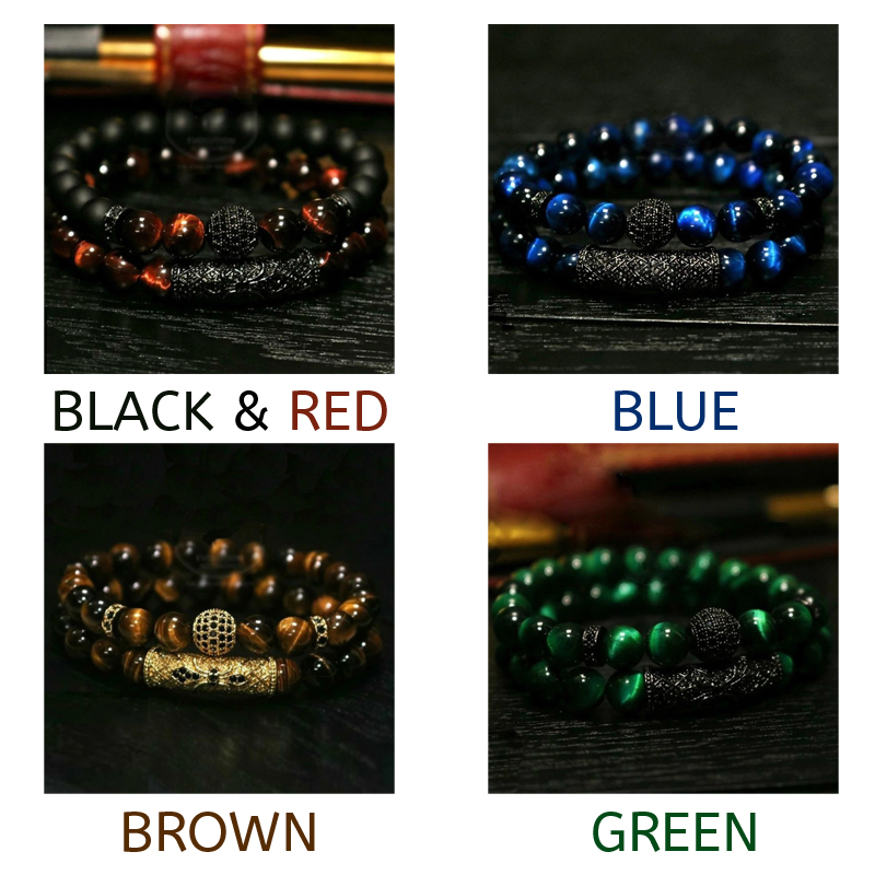 deluxe-mens-bracelet-natural-stone-beaded-jewelry-set-BR-15304