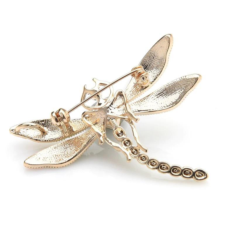 dragonfly-brooch-green-crystal-enamel-wedding-pin-PN-15092