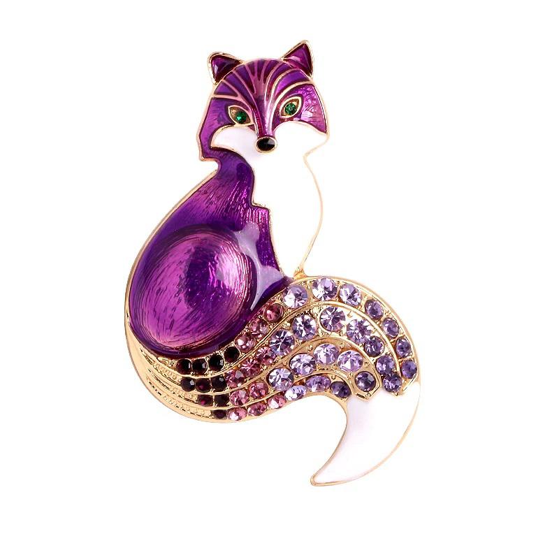 fox-brooch-enamel-rhinestone-cz-animal-pin-jewelry-purple-PN-15388-15392