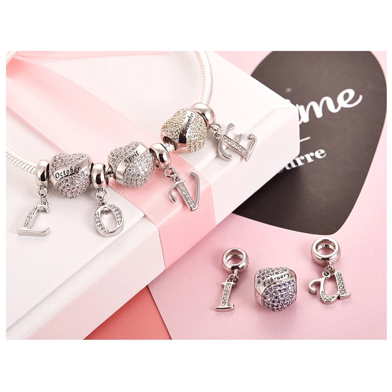 jewelry-making-letter-charm-beads-s925-cz-gift-CHRM-15314