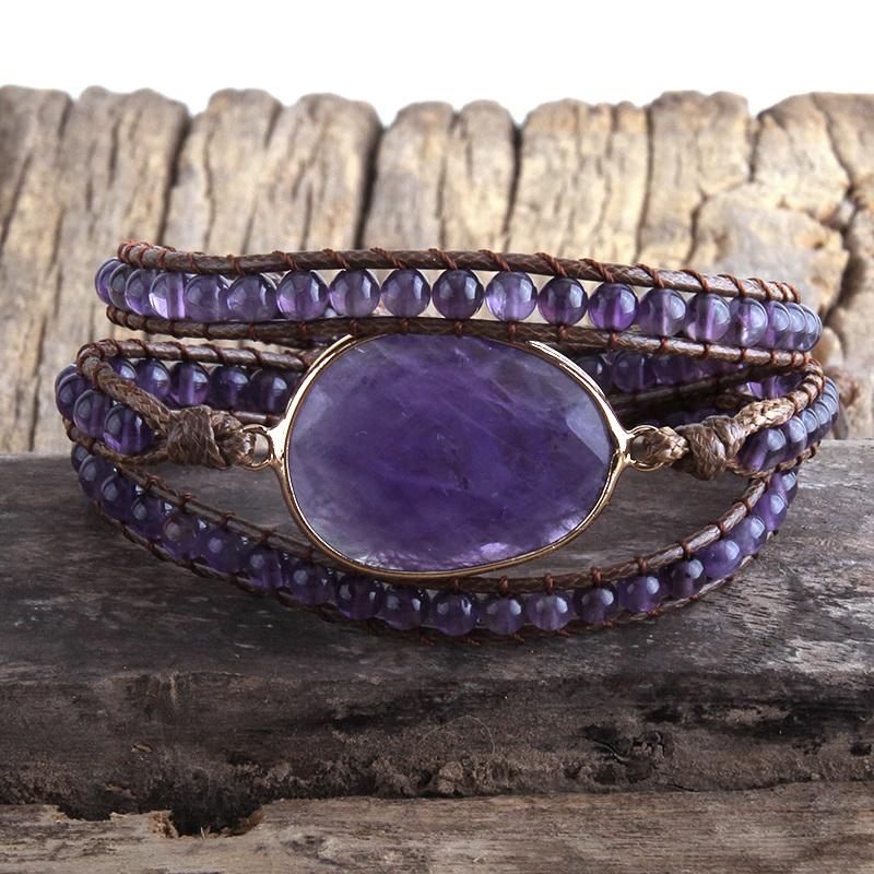 natural-stone-wrap-bracelet-boho-handmade-beaded-purple-quartz-BR-15453-15461