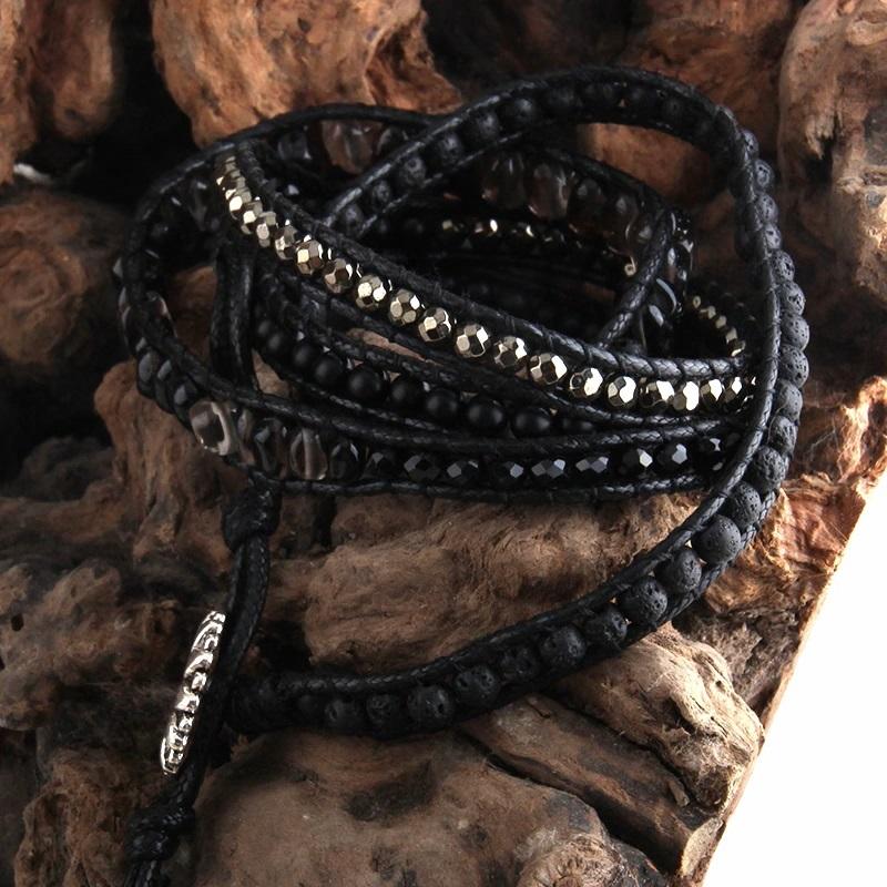 black-onyx-bohemian-handmade-wrap-bracelet-natural-stones-BR-15488-15489