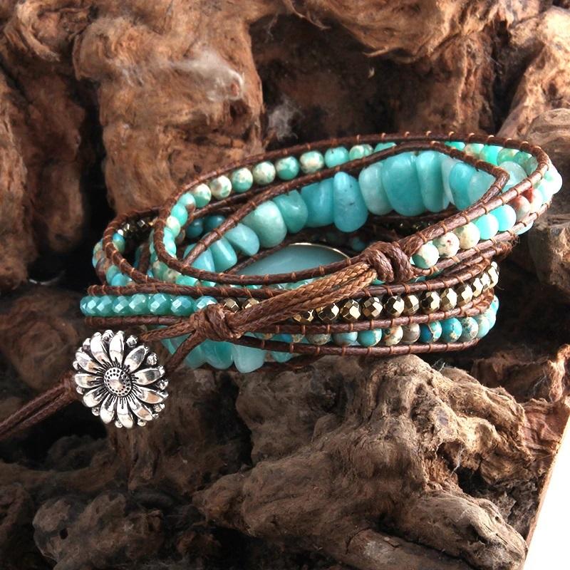 blue-amazonite-bohemian-handmade-wrap-bracelet-natural-stones-BR-15488-15490