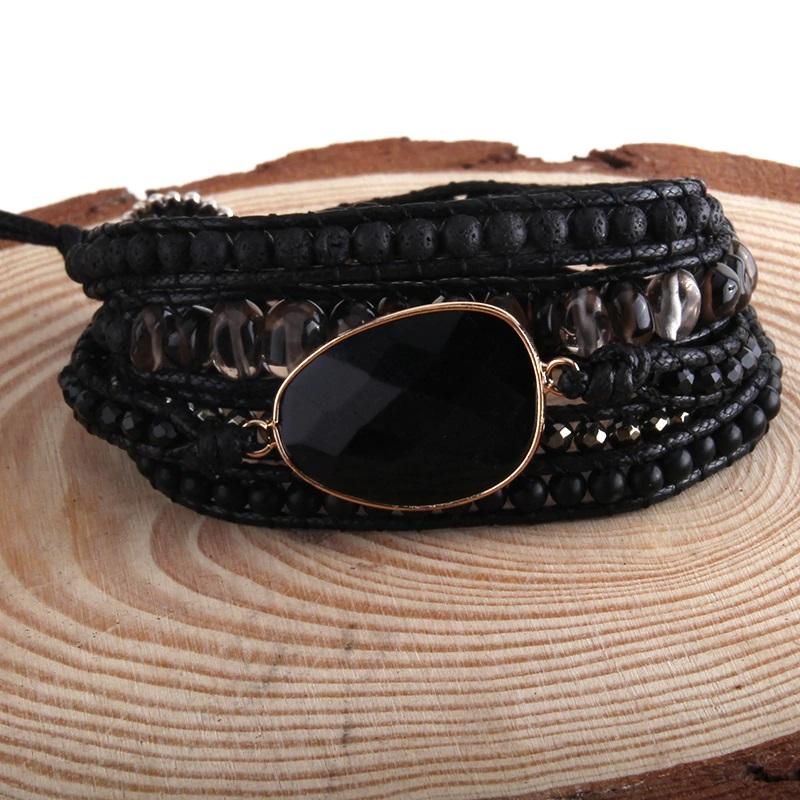 bohemian-handmade-wrap-bracelet-natural-stones-black-onyx-BR-15488-15489