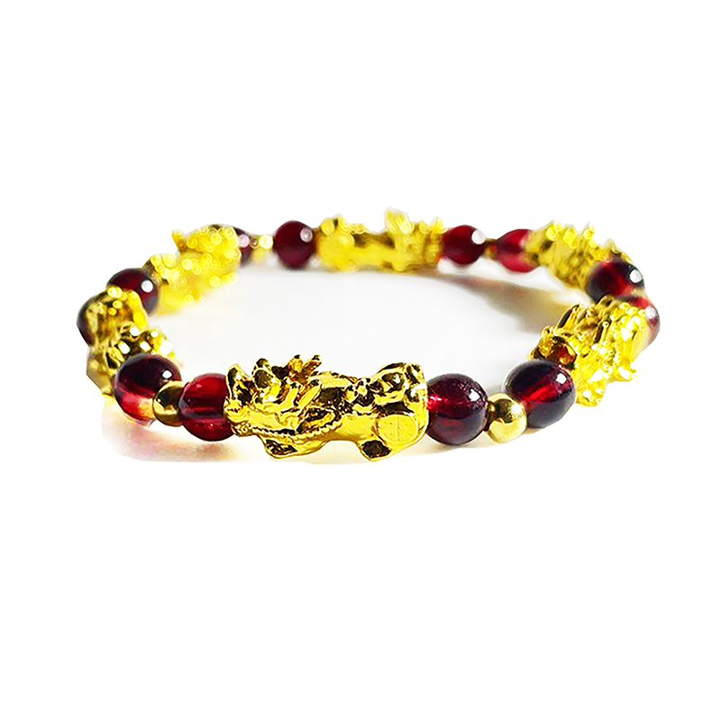 Handmade Feng Shui Bracelet Beaded Stretch