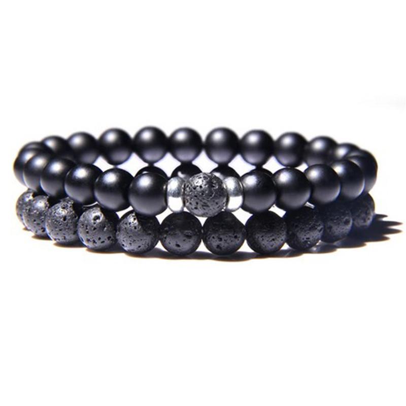 lava-stone-couple-bracelet-multi-stones-stretch-onyx-BR-15564