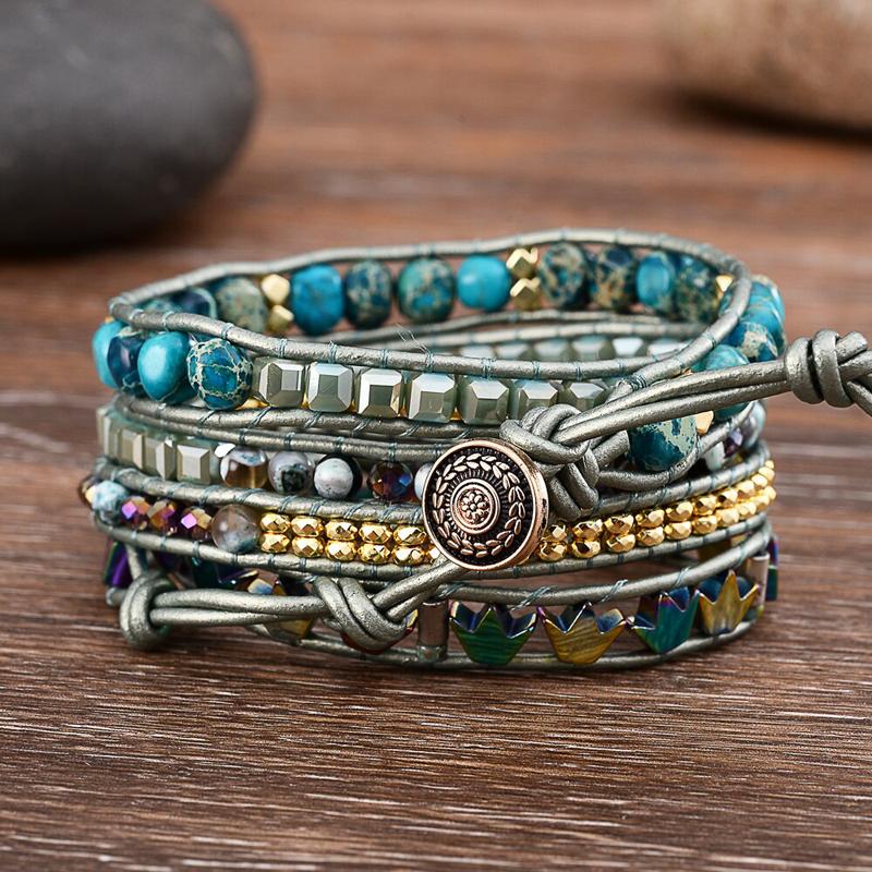 wrap-bracelet-hamsa-hand-leather-beaded-charm-BR-15723