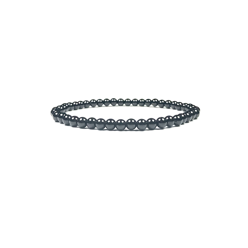 4mm-natural-stone-bracelet-stretch-beaded-trendy-black-onyx-BR-15784-15792
